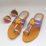 Open Toe Flat Summer Shoes WFW 0038