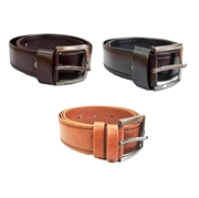 Bundle of Three Artificial Leather Belt for Men