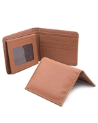 Pack of Men Rexine Mustard Wallet and Card Holder W-9501