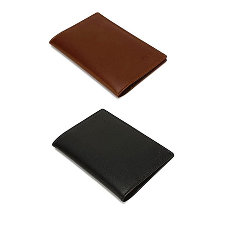 Buy Pack of Two Cow Leather Passport Covers  online