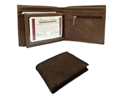 Suede Cow Leather Wallet for Men