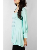 Buy KNITTED LONG TOP WT-0041  online