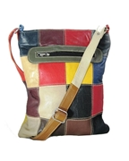 Multicolor Sheep Leather Cross Body bag for Women