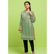 Green Embroidered Kurti for Women Mardaz-1127