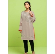Grey Embroidered Kurti for Women Mardaz-1129