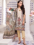 Women Summer Collection V3 Unstitched-Embroidered 3-pc Multi Lawn Suit KLA-9048
