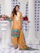 Women Summer Collection V3 Unstitched-Embroidered 3-pc Multi Lawn Suit KL-4081