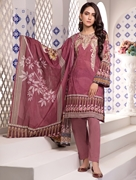 Women Summer Collection V3 Unstitched-Embroidered 3-pc Multi Lawn Suit KL-4078
