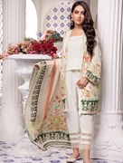 Women Summer Collection V3 Unstitched-Embroidered 3-pc Multi Lawn Suit KLA-9052