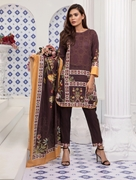 Women Summer Collection V3 Unstitched-Embroidered 3-pc Multi Lawn Suit KLA-9054