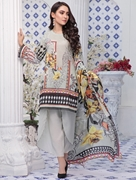 Women Summer Collection V3 Unstitched-Embroidered 3-pc Multi Lawn Suit KLA-9055
