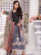 Women Summer Collection V3 Unstitched-Embroidered 3-pc Multi Lawn Suit KLA-9056