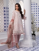Women Summer Collection V3 Unstitched-Embroidered 3-pc Multi Lawn Suit KC-5056
