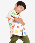 Cotton Casual Ignite Marble Kids Shirt