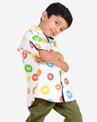 Buy Cotton Casual Ignite Marble Kids Shirt  online