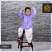 Lilac Kurta Shalwar for Infants|Kids|Teens FR#9 4 to 7yrs