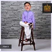 Lilac Kurta Shalwar for Infants|Kids|Teens FR#9 14 to 19yrs