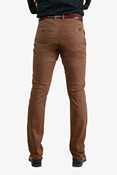 Buy Golden Brown Smart Stretchable Chino 040 Golden Brown  online