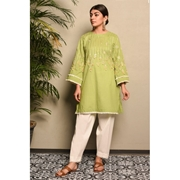 Green Perls Embroidered Kurti For Womens Mardaz-1164
