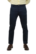 Classy Navy Stretchable Chino - GAS Navy