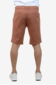 Buy Brown Stretchable Chino Short - Medicine Brown Short  online
