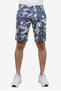 Navy AOP Printed Chino Short - Navy AOP printed Short