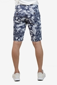 Buy Navy AOP Printed Chino Short - Navy AOP printed Short  online