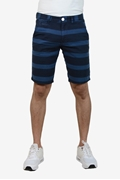 Navy Strips Men's Chino Short - Navy Strips short