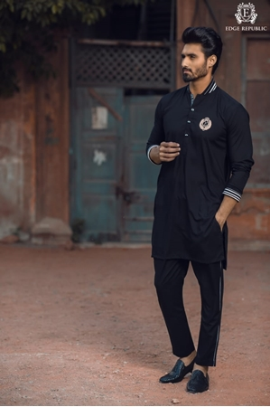 Buy EDGE Stylish Design Kurta Shalwar for Men's - EDGE-048  online