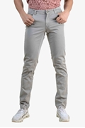 Light Grey Basic Stretch Pants - Jonzo Grey