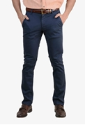Navy Smart Stretchable Chino - 040 Navy