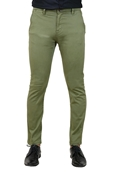 Buy Premium Green Stretchable Chino - TT Green  online