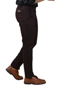 Buy Comfortable Coffee Brown Stretchable Chino - IGN Coffee Brown Chino  online