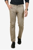 Buy Comfortable Beige Stretchable Chino - IGN Beige Chino  online