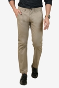 Comfortable Beige Stretchable Chino - IGN Beige Chino