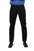 Comfortable Black Stretchable Chino - IGN Black Chino