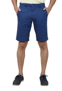 Blue Signature Stretchable Short - Blue Signature short