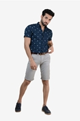 Buy Mens Grey Chino Cotton Short - TRN Short- Grey  online