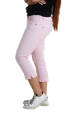 Buy Pink Three-Quarter Stretch Pants For Women - ELOS Basic Three-Quarter Pink  online