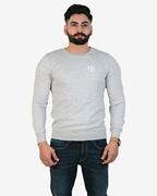 Ignite Grey Sporty Thermal Crew Neck - Thermal H.Grey