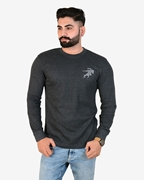 Ignite Charcoal Get Set Go Thermal Crew Neck - Thermal Charcoal