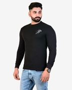 IGNITE Black Get Set Go Thermal Crew Neck - Thermal Black