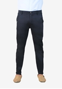 Impeccable Navy Stretchable Chino - Sadeck Navy