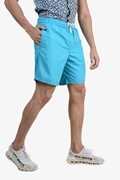 Blue Bermuda Plain Men's Shorts - AUCHAN Blue