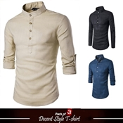 Buy Pack of 3 Decent Style T-Shirt's for Men's  online