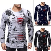 Pack Of 3 Printed Full Sleeves T-Shirt's for men's