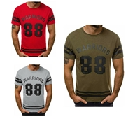 Pack Of 3 Warriors T-Shirt's for men's