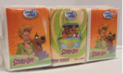 Cool&Cool Mini Tissue Scooby Doo 10's - Pack Of 6