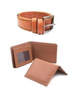Bundle of Men Wallet, Belt and Card Holder
