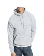 Grey Pull Over Fleece Hoodie for Men